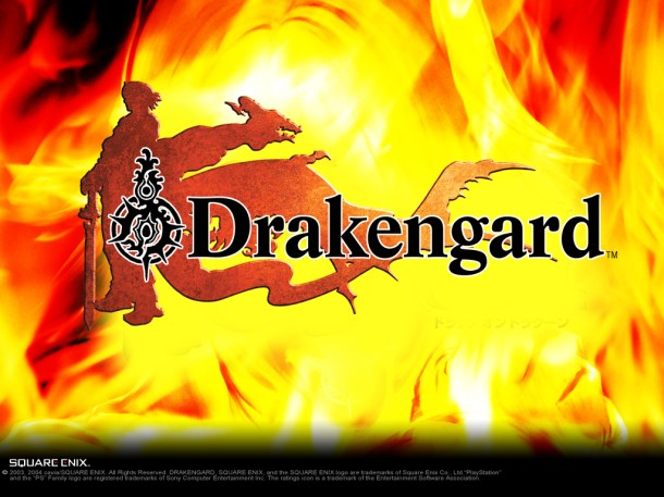 Original Drakengard logo. Drakengard 3 is under development.