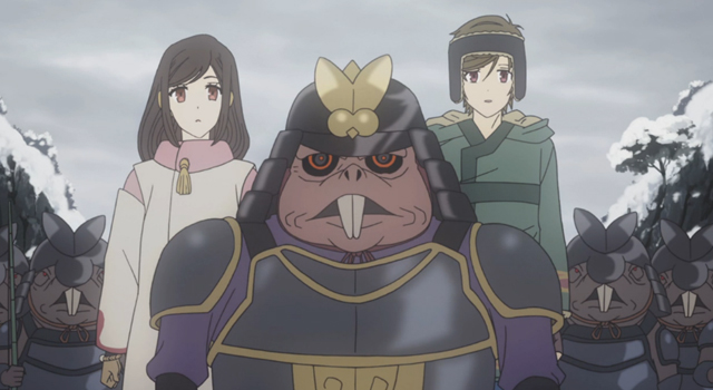 Shin Sekai Yori - Saki, Squeara, Satoru