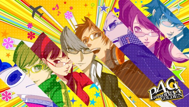 Persona 4 Golden group