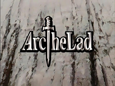 Publisher Monkey Paw - Arc the Lad Logo