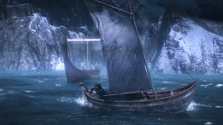 The Witcher 3: Wild Hunt | Boat on the Sea
