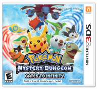 Pokemon Mystery Dungeon: Gates to Infinity Boxart