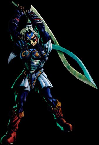 Zelda Majora's Mask Fierce Deity Sword