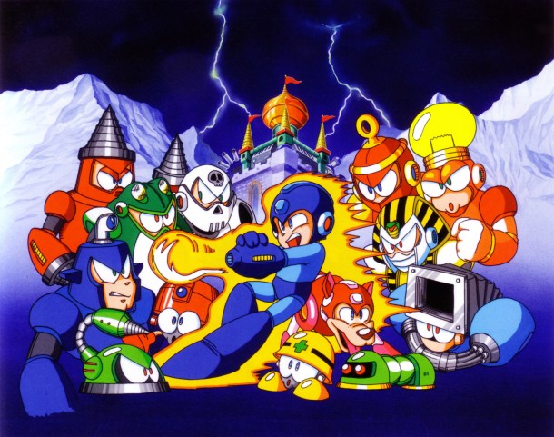 Mega Man 4 | Characters