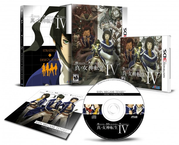 Shin Megami Tensei IV First Print Edition