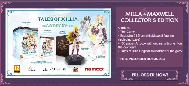 Tales of Xillia EU Collector's Edition