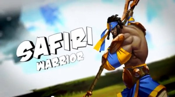 Sacred Citadel | Safiri Warrior