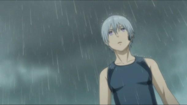 Gargantia Ledo in Rain