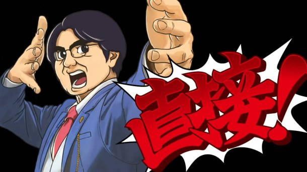Nintendo Direct cartoon lawyer Iwata