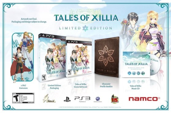 Tales of Xillia Limited Edition | OpRain