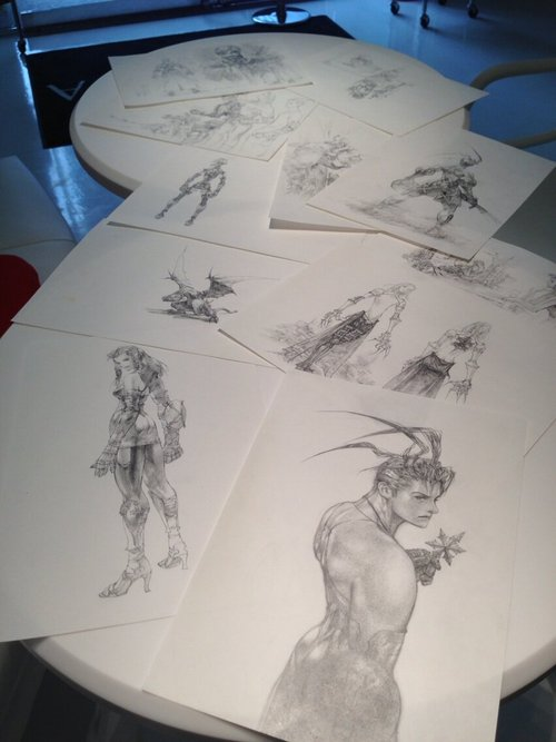 Vagrant Story Art Show Artnia