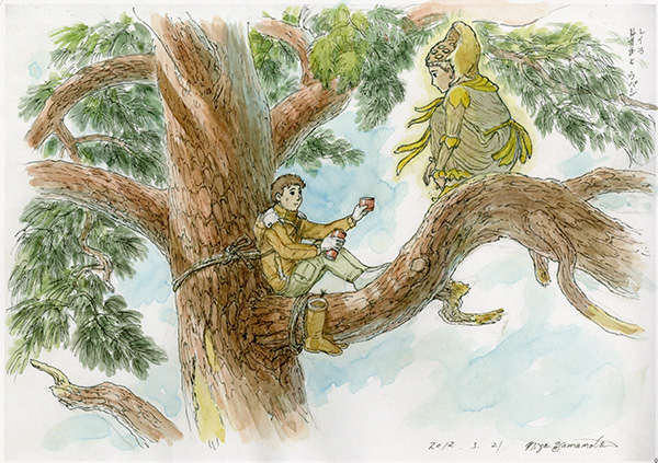 Kibō no Ki (The Tree of Hope) anime from Studio Ghibli art director