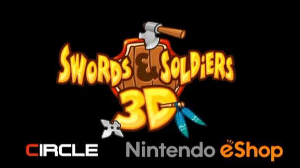 Swords & Soldiers 3d logo