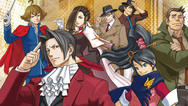 Ace Attorney Investigations 2 Characters | OpRainfall