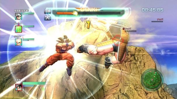 Dragon Ball Z: Battle of Z | Goku, Nappa