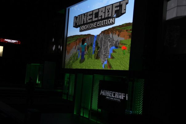 E3 2013 Microsoft Press Conference - Minecraft from Mojang