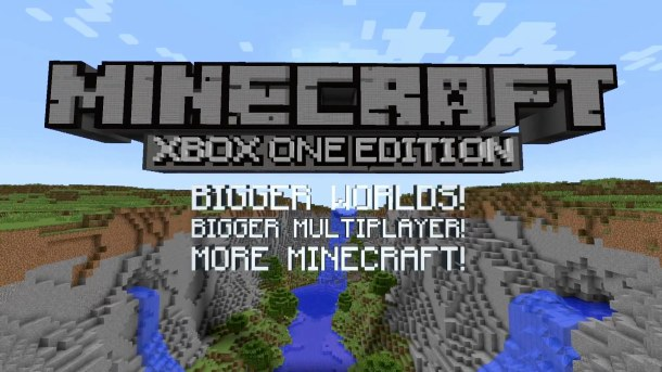 Minecraft Xbox One Edition logo