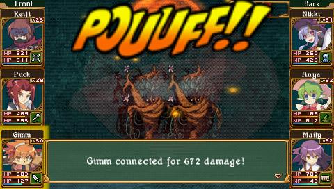 Class of Heroes 2   Mandrake battle