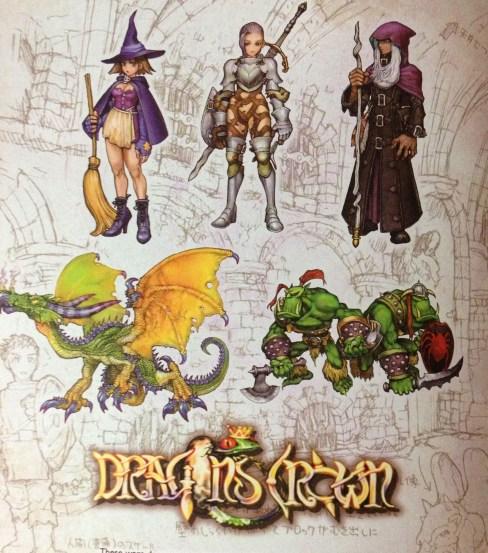 Dragon's Crown Art