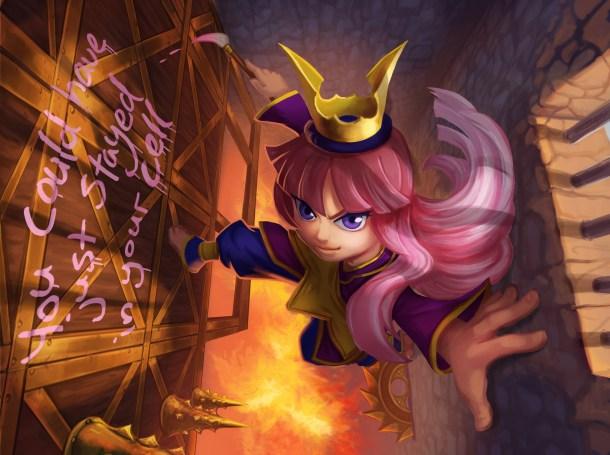 Freedom Fall | Princess art