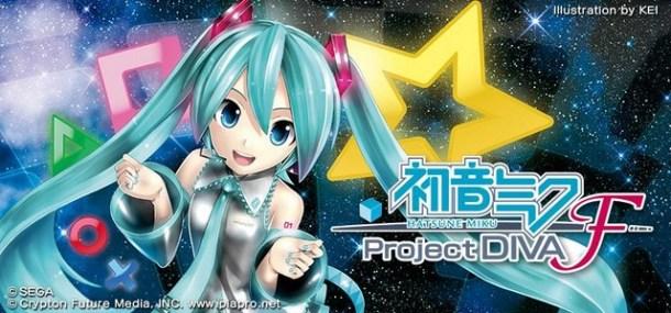 Hatsune Miku: Project DIVA F logo