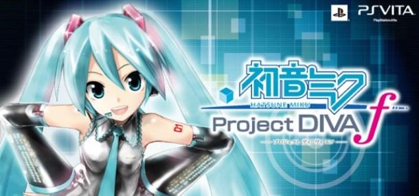 Hatsune Miku Project Diva f logo