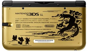 Pokemon X and Y 3DS Premium Gold Back - oprainfall