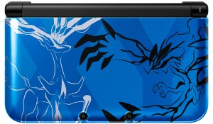 Pokemon X Y 3DS Xerneas and Yveltal Blue Front - oprinfall