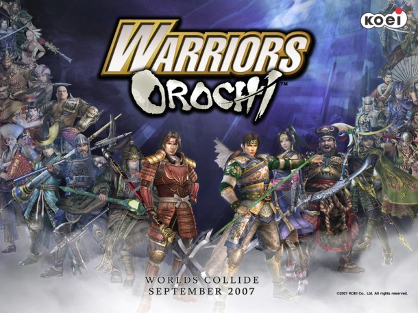 PSN Weekly - Warriors Orochi