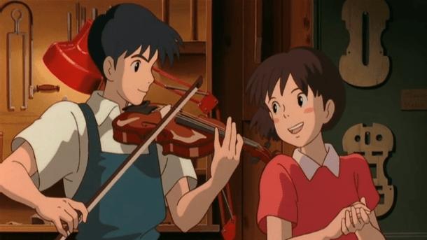 whisper of the heart shizuku and seiji
