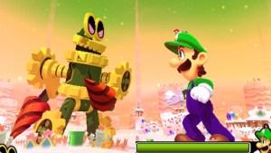 Mario & Luigi Dream Team - Giant Battle