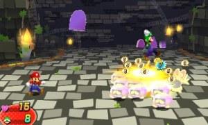 Mario & Luigi Dream Team - Dream Battle