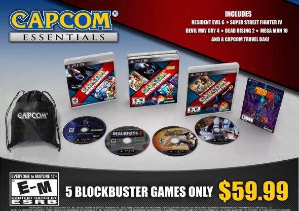 Capcom Essentials - oprainfall