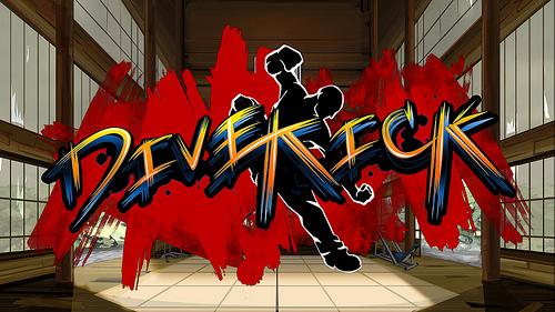 Dive Kick   Logo
