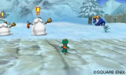 Dragon Quest Monsters 2 snow scene