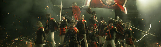 Final Fantasy Type 0 Group Shot