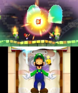 Mario & Luigi Dream Team - Dreambert the Pi'illo