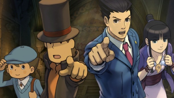 Tyler's Games of 2014 | Layton vs. Ace Attorney