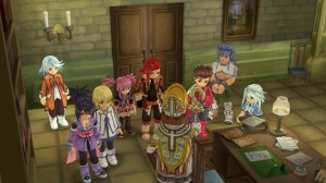 Tales of Symphonia Chronicles | The Whole Cast