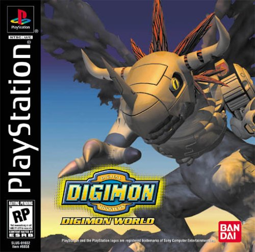 Digimon World cover