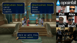 Tales of Symphonia: Stream 5 - The Two Teams