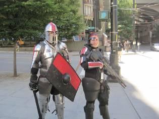 Hawke (Dragon Age II) and Commander Shepard (Mass Effect series)
