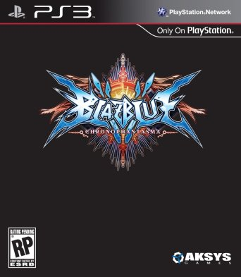 BlazBlue Chrono Phantasma | PS3 Cover