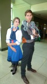 Elizabeth and Booker (BioShock Infinite)