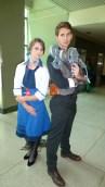 Elizabeth and Booker (BioShock Infinite)