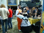 GLaDOS and male Aperture Science employee (Portal series)