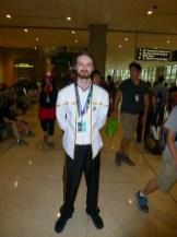 Male Starfleet officer in 2370s dress uniform (Star Trek series)