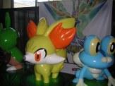 Fennekin and Froakie (Pokémon X & Y) balloons