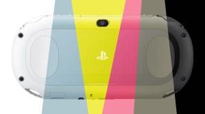 PS Vita PCH-2000 colors
