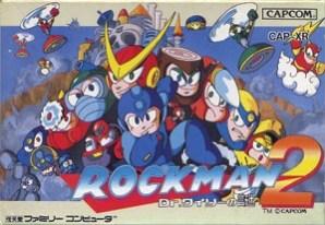 Rockman 2 box art